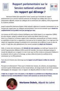 Rapport Parlementaire service Universel
